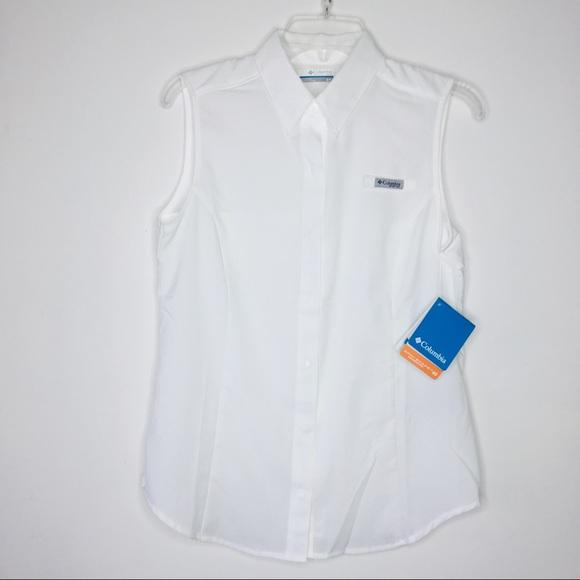 571736dd718d49 Columbia Tops - Columbia Sportswear Women Tamiami Sleeveless Shirt